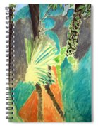 Matisse's Palm Leaf In Tangier Spiral Notebook