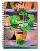 Matisse's Pot Of Geraniums Spiral Notebook