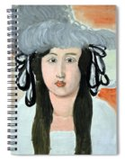 Matisse's The Plumed Hat Spiral Notebook