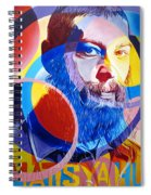 Matisyahu In Circles Spiral Notebook