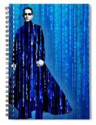 Matrix Neo Keanu Reeves Spiral Notebook