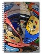 Matryoshka Egg Spiral Notebook