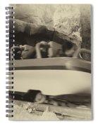 Matterhorn Bobsled Fantasyland Disneyland Heirloom Spiral Notebook