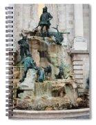 Matthias Fountain In Budapest Spiral Notebook