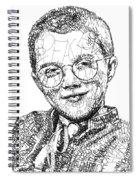 Mattie Stepanek Spiral Notebook