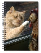 Matty And Rooster #1 Spiral Notebook