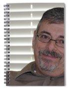 Mature Man Looking At Viewer Spiral Notebook