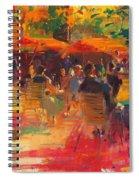Maturing Sun, Paris Oil On Canvas Spiral Notebook