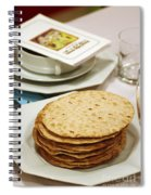 Matza And Haggada For Pesach Spiral Notebook