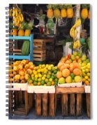 Maui Fruits And Vegetables Spiral Notebook