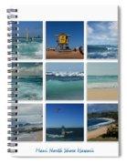 Maui North Shore Hawaii Spiral Notebook