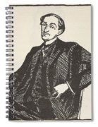 Maurice Barres, Copy By Boris Spiral Notebook