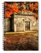 Mausoleum Spiral Notebook
