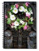 Mausoleum Mosaic Spiral Notebook
