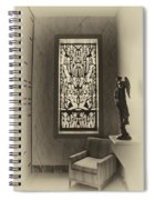 Mausoleum Stained Glass 02 Spiral Notebook