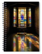 Mausoleum Stained Glass 06 Spiral Notebook