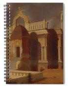 Mausoleum With Stone Elephants Spiral Notebook