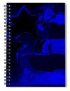 Max Americana In Blue Spiral Notebook