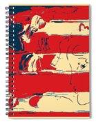 Max Americana In Hope Spiral Notebook