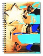 Max Americana In Inverted Colors Spiral Notebook