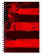 Max Stars And Stripes In Red Spiral Notebook