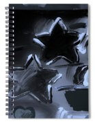 Max Two Stars In Cyan Spiral Notebook