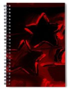 Max Two Stars In Red Spiral Notebook