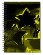 Max Two Stars In Yellow Spiral Notebook