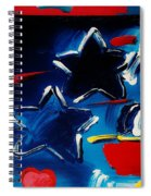 Max Two Stars Spiral Notebook