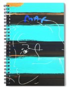 Max Woman In Negative Spiral Notebook