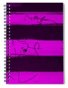 Max Woman In Purple Spiral Notebook