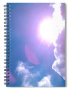 Maxfield Parrish Blue Clouds Over Lagrange Spiral Notebook