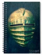 Maximilian Knights Armour Helmet Spiral Notebook
