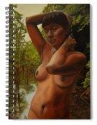 May Morning Arkansas River 4 Spiral Notebook