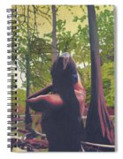 May Morning Arkansas River 5 Spiral Notebook