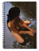 May Morning Arkansas River Spiral Notebook