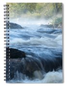 May Morning On The Pawcatuck Spiral Notebook