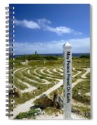 May Peace Prevail On Earth Peace Labyrinth Aruba Spiral Notebook