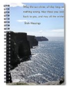 May The Sun Shine All Day Long Spiral Notebook