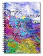 May You Prosper Spiral Notebook