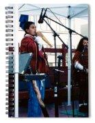 Mayan Music Spiral Notebook