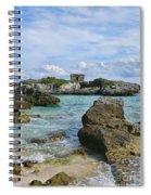 Mayan Ruin Spiral Notebook