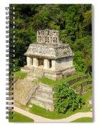 Mayan Temple Spiral Notebook