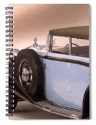 Maybach Car 5 Spiral Notebook