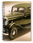 Maybach Car 6 Spiral Notebook