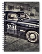 Mayberry Taxi Spiral Notebook