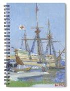 Mayflower At Birth Spiral Notebook