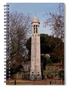 Mayflower Memorial Southampton England Spiral Notebook