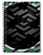 Mc Escher Spiral Notebook