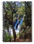 Mcarthur-burney Falls Side View Spiral Notebook